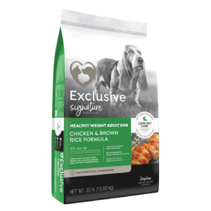 Exclusive Signature Heathy Weight Dog Food