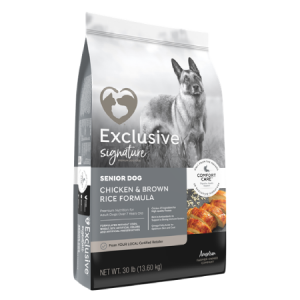 Exclusive® Signature Senior Chicken & Brown Rice Formula