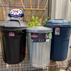 Trash Cans 20% off in July at Berend Bros.