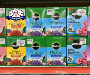 10% off Miracle-Gro Plant Food in September at Berend Bros.
