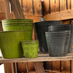 Robert Allen Garden Pots and Containers are on sale in May at Berend Bros.